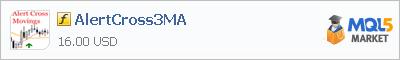 Купить индикатор AlertCross3MA в магазине систем алготрейдинга