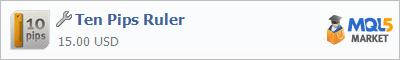 Купить приложение Ten Pips Ruler в магазине систем алготрейдинга