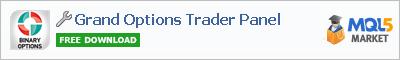 Панель Grand Options Trader Panel