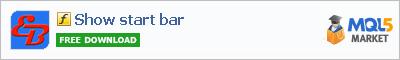 Индикатор Show start bar