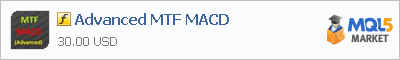 Индикатор Advanced MTF MACD