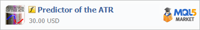 Индикатор Predictor of the ATR
