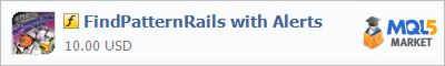 Индикатор FindPatternRails with Alerts