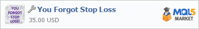 Купить приложение You Forgot Stop Loss в магазине систем алготрейдинга