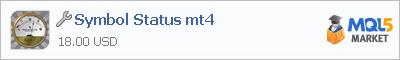 Купить приложение Symbol Status mt4 в магазине систем алготрейдинга
