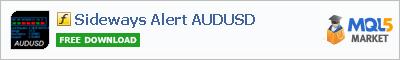 Индикатор Sideways Alert AUDUSD