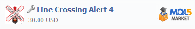 Купить приложение Line Crossing Alert 4 в магазине систем алготрейдинга