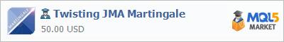 Купить эксперта Twisting JMA Martingale в магазине систем алготрейдинга