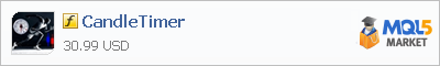 Купить индикатор CandleTimer в магазине систем алготрейдинга