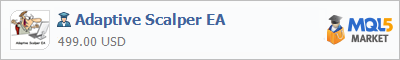 Советник Adaptive Scalper EA