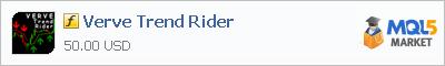 Индикатор Verve Trend Rider