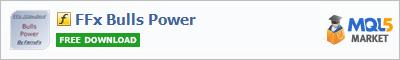 Купить индикатор FFx Bulls Power в магазине систем алготрейдинга
