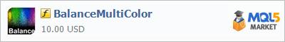 Купить индикатор BalanceMultiColor в магазине систем алготрейдинга