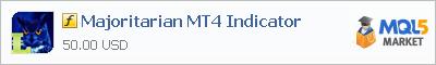 Индикатор Majoritarian MT4 Indicator