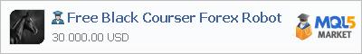Купить эксперта Free Black Courser Forex Robot в магазине систем алготрейдинга
