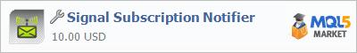 Купить приложение Signal Subscription Notifier в магазине систем алготрейдинга
