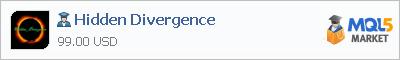 Купить эксперта Hidden Divergence в магазине систем алготрейдинга