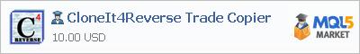 Советник CloneIt4Reverse Trade Copier