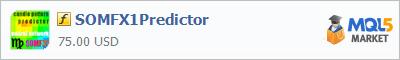 Купить индикатор SOMFX1Predictor в магазине систем алготрейдинга