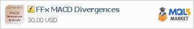 Индикатор FFx MACD Divergences