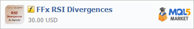 Индикатор FFx RSI Divergences