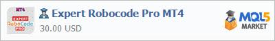 Купить эксперта Expert Robocode Pro MT4 в магазине систем алготрейдинга
