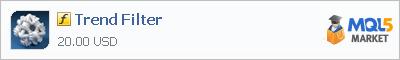 Купить индикатор Trend Filter в магазине систем алготрейдинга