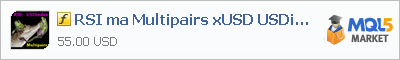 Индикатор RSI ma Multipairs xUSD USDindex Alert