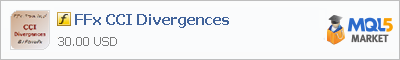 Индикатор FFx CCI Divergences