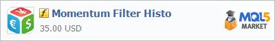 Индикатор Momentum Filter Histo