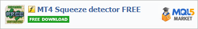 Купить эксперта MT4 Squeeze detector FREE в магазине систем алготрейдинга