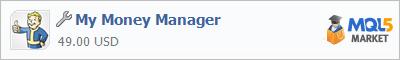 Купить приложение My Money Manager в магазине систем алготрейдинга