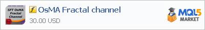 Индикатор OsMA Fractal channel