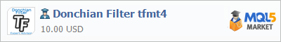 Советник Donchian Filter tfmt4