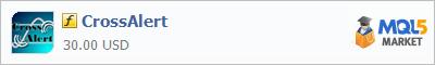 Купить индикатор CrossAlert в магазине систем алготрейдинга