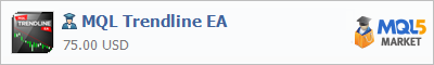 Советник MQL Trendline EA