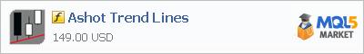 Индикатор Ashot Trend Lines