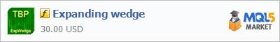 Индикатор Expanding wedge