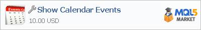 Купить приложение Show Calendar Events в магазине систем алготрейдинга
