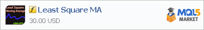 Купить индикатор Least Square MA в магазине систем алготрейдинга