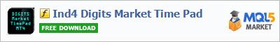 Купить индикатор Ind4 Digits Market Time Pad в магазине систем алготрейдинга