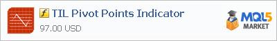 Купить индикатор TIL Pivot Points Indicator в магазине систем алготрейдинга
