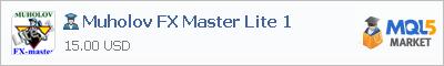 Купить эксперта Muholov FX Master Lite 1 в магазине систем алготрейдинга