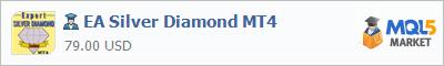 Купить эксперта EA Silver Diamond MT4 в магазине систем алготрейдинга