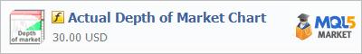 Купить индикатор Actual Depth of Market Chart в магазине систем алготрейдинга
