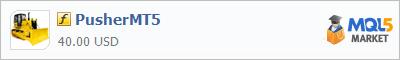 Купить индикатор PusherMT5 в магазине систем алготрейдинга