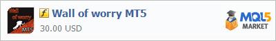 Купить индикатор Wall of worry MT5 в магазине систем алготрейдинга