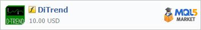 Купить индикатор DiTrend в магазине систем алготрейдинга