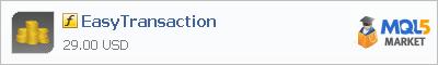 Купить индикатор EasyTransaction в магазине систем алготрейдинга